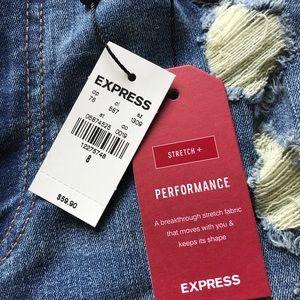 Express Shorts - NWT Express Jean Shorts High Rise Shortie
